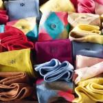 Chaussettes Burlinton de couleurs