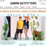 Urban Outfitters ouvre un point de vente à Paris