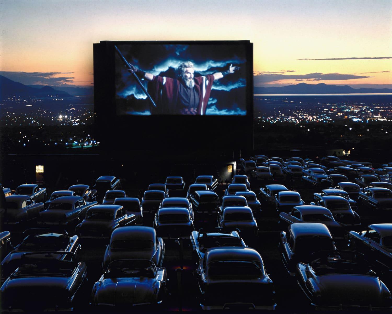 drive in cinéma plein air