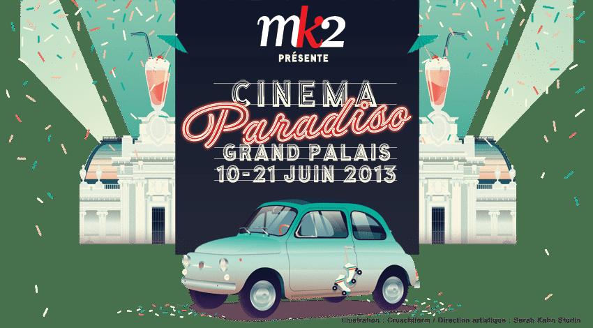 Grand palais affiche cinéma paradiso