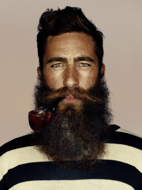 Barbe de hipster