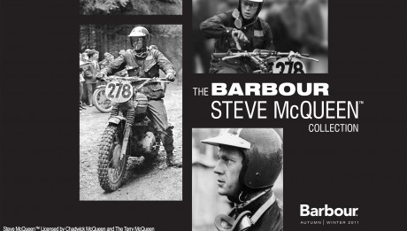 Barbour collection steve McQueen