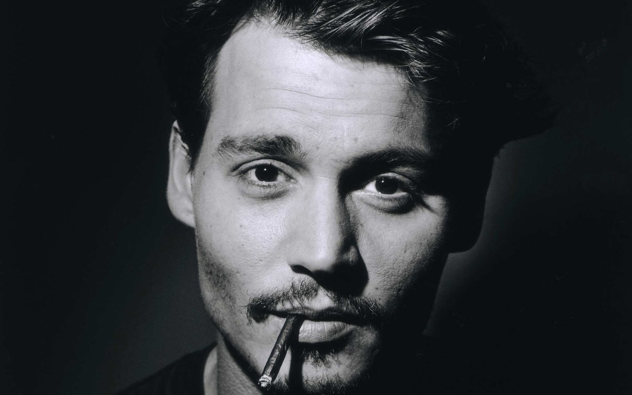 Johnny Depp moustache