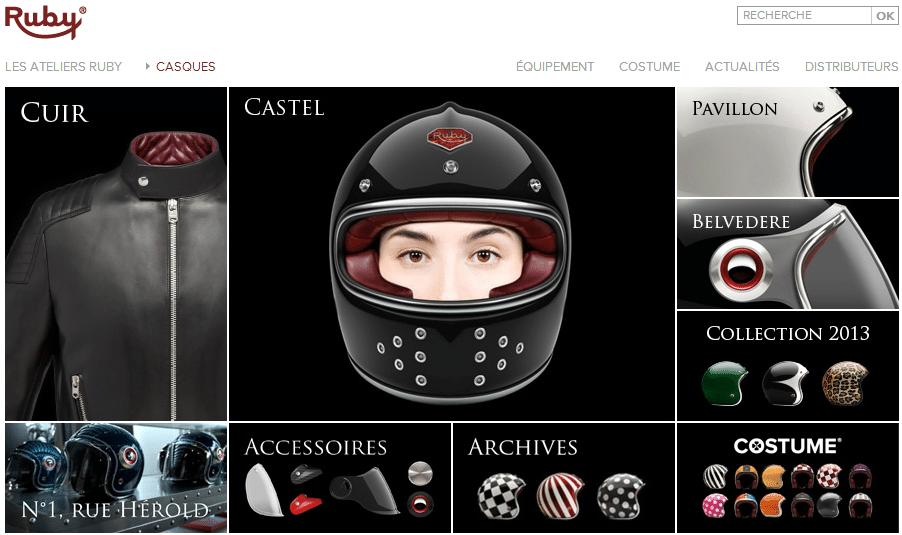Atelier Ruby site internet