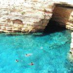 Première escale dans les Cyclades sur l'île de Milos