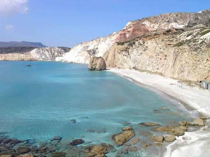 Iles de Milos dans les Cyclades en Grèce