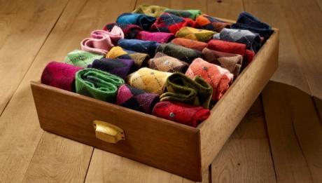 les chaussettes Burlington