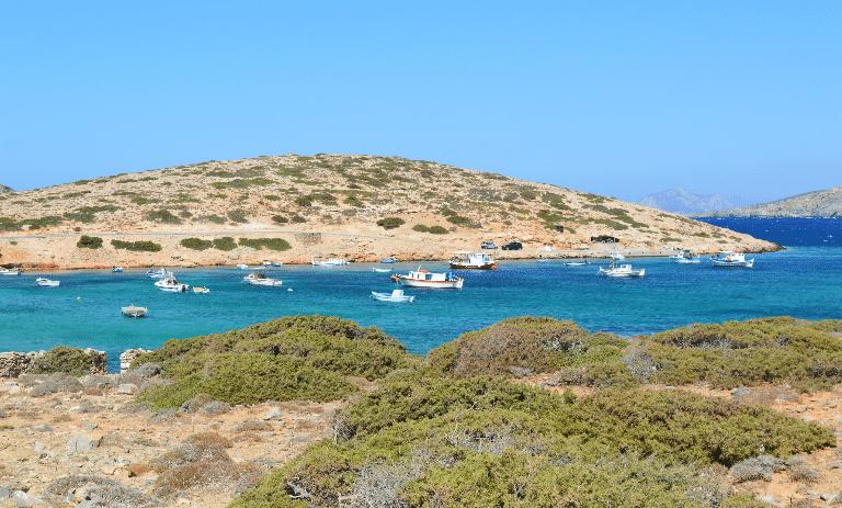 Ile Amorgos plage du grand bleu