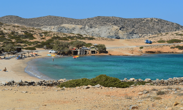 Amorgos plage du grand bleu
