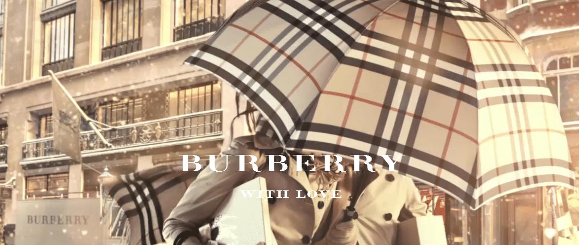 Burberry ouvre la saison des fêtes de fin d année - L homme Tendance a79ce849e57