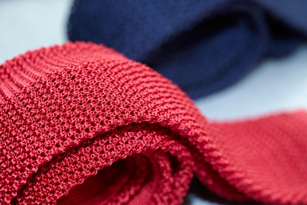 Célèbre La cravate en laine ou cravate Tricot à porter en toutes circonstances FW81