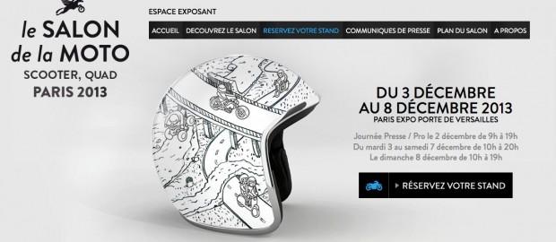Salon de la moto de paris 2013 porte de versailles l for Salon du x porte de versailles