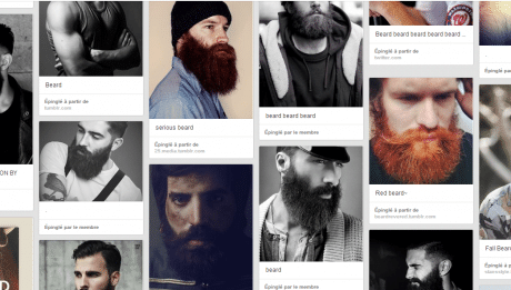 barbe de hipsters tendance