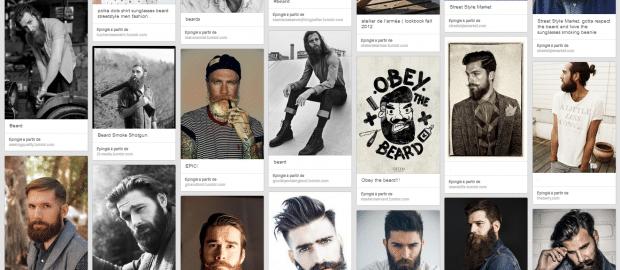 Barbes de hipsters