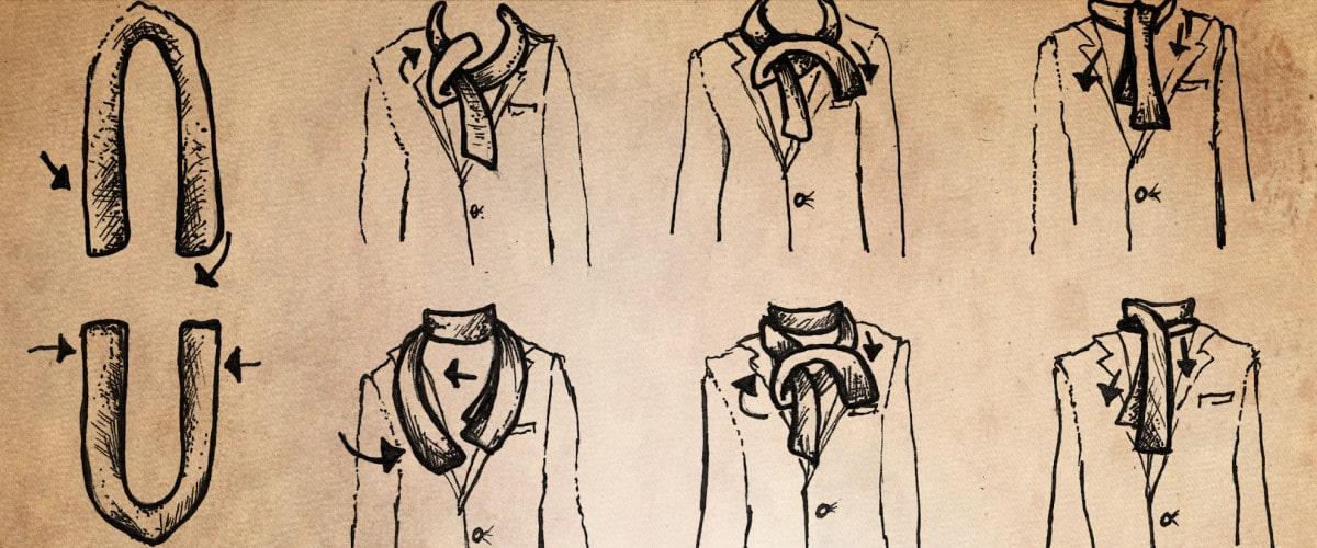 Exceptionnel Comment porter une écharpe ? - L'homme Tendance GH38