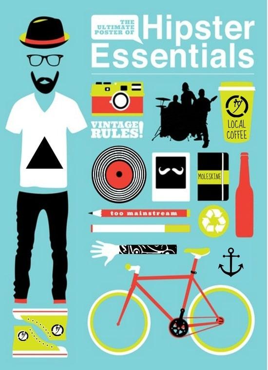 L'essentiel du parfait hipster