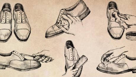 lustrer ses chaussures