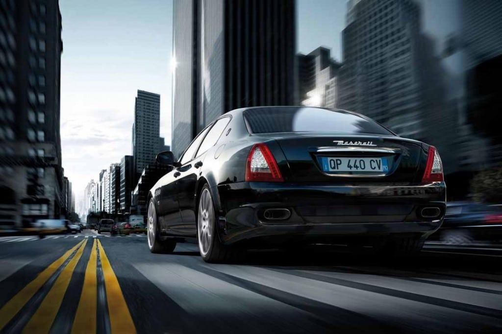 Maserati Quattroporte noire