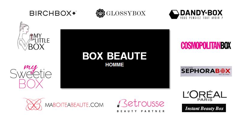 Box beauté pour hommes