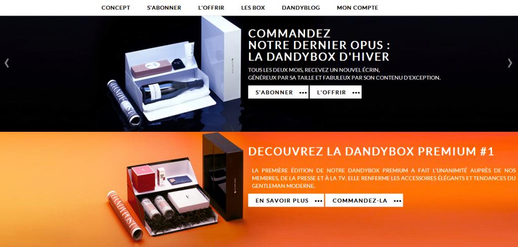 DandyBox - Box lifestyle pour hommes