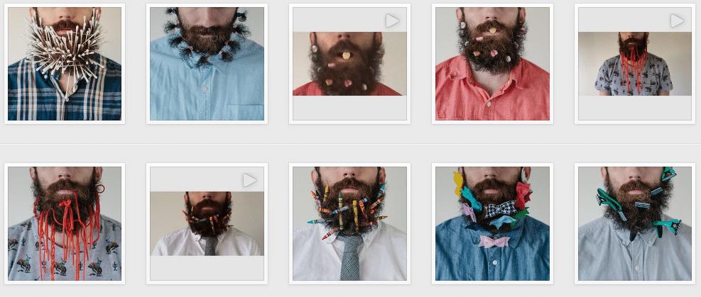le barbe art de pierce thiot de retour l 39 homme tendance. Black Bedroom Furniture Sets. Home Design Ideas