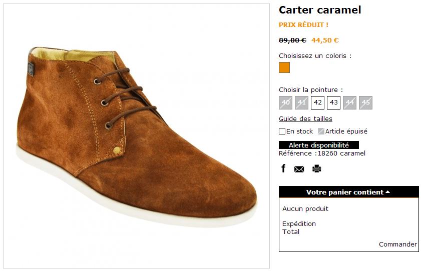 Souvent WHOOZ, marque française de chaussures pour hommes chics et urbains  VB69