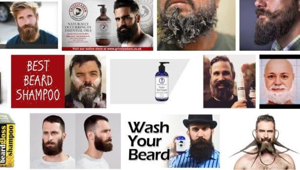 Adoucir sa barbe en utilisant du shampoing pour la barbe