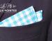 Pochette de costume: le pli deux pointes