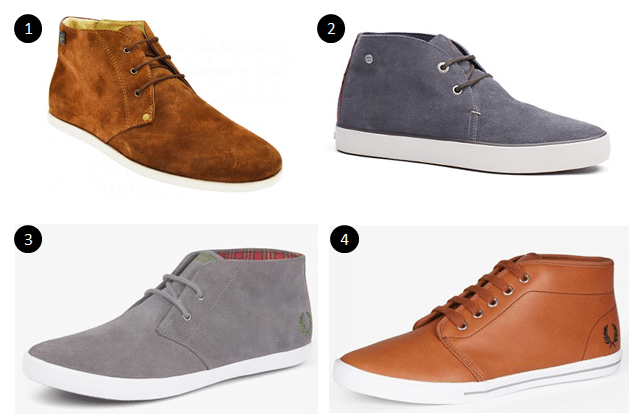 Sélection de chaussures montantes pour hommes