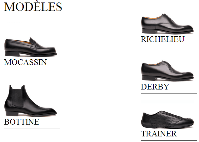 bonne vente de chaussures magasin Chaussures 2018 Chaussures JM WESTON pour homme tendance