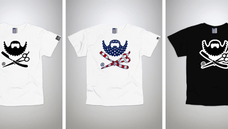 T-shirt barbe pour homme