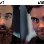 Se couper la barbe après 10 mois d'efforts (Vidéo)