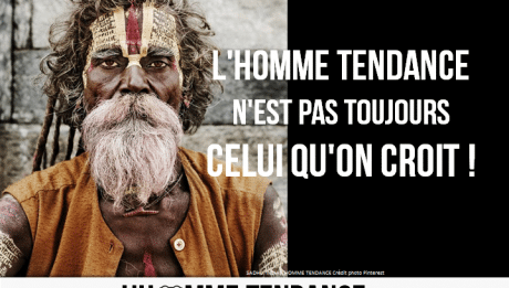 Affiches homme tendance