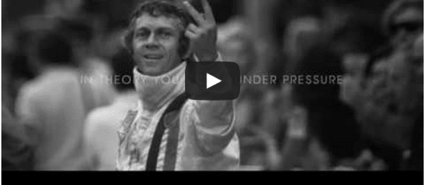 Another cool B/W ad, this time from CLM BBDO Paris for Tag Heuer, celebrating the misfits who break rules and become heroes. Sounds like that old Apple ad. But nicely updated. We want to know who Steve McQueen was flicking a V at, and if he knew what it meant in England or France... More ad industry coverage