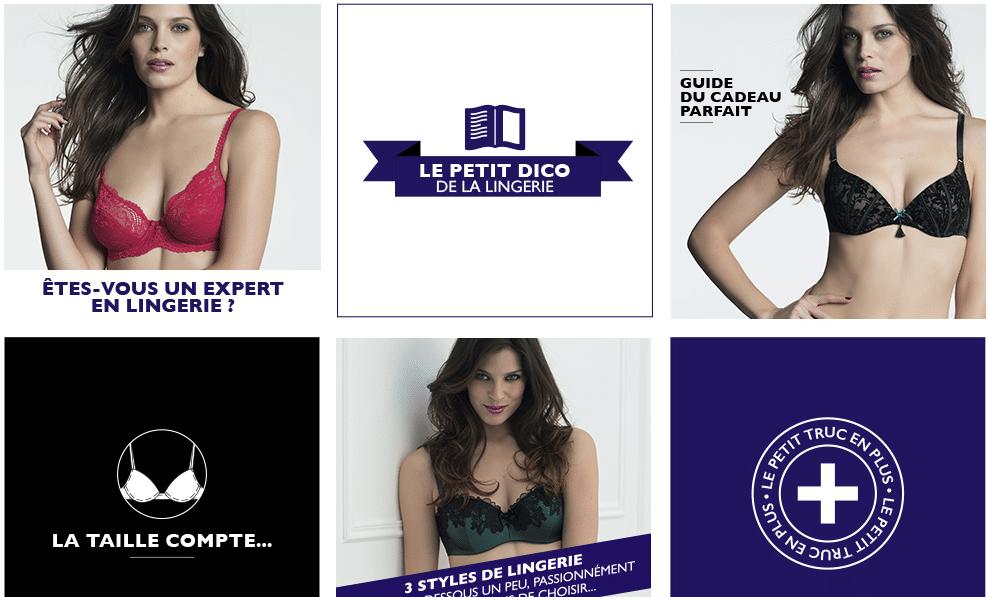 Site pour les hommes qui achètent de la lingerie féminine