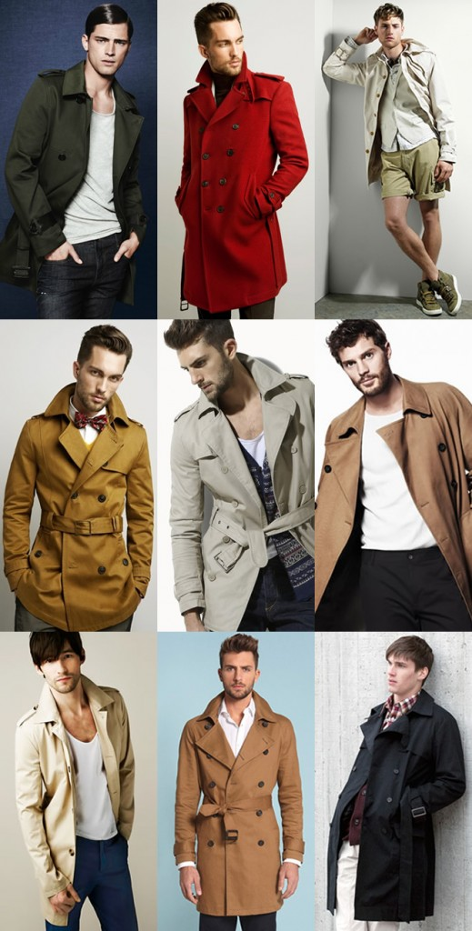 Trench-Coat pour homme