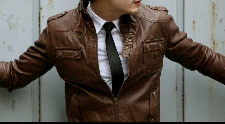Les vestes en cuir pour homme 2015