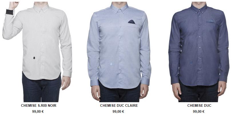 Chemises pour hommes Bold Boys
