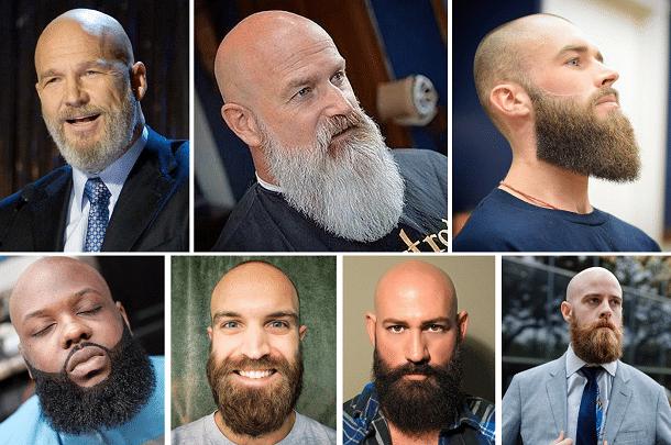 Chauves et barbus : quel style !