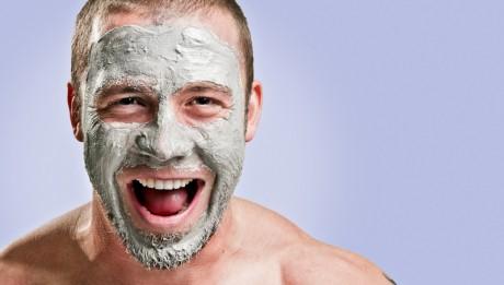 peau homme acné