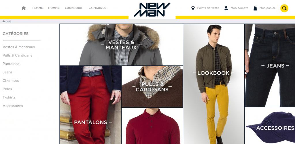 Newman   Prêt à porter vêtements homme