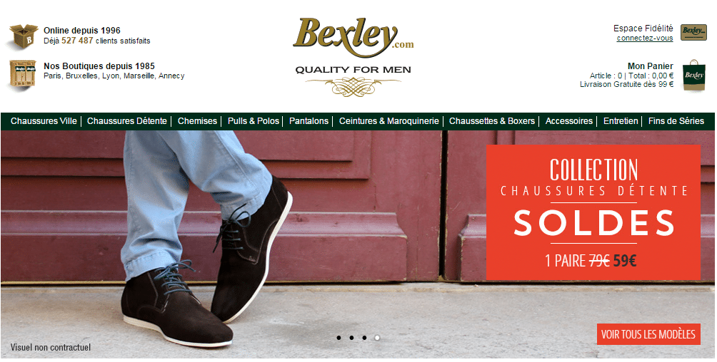 bexley.fr - BEXLEY Chaussures Hommes