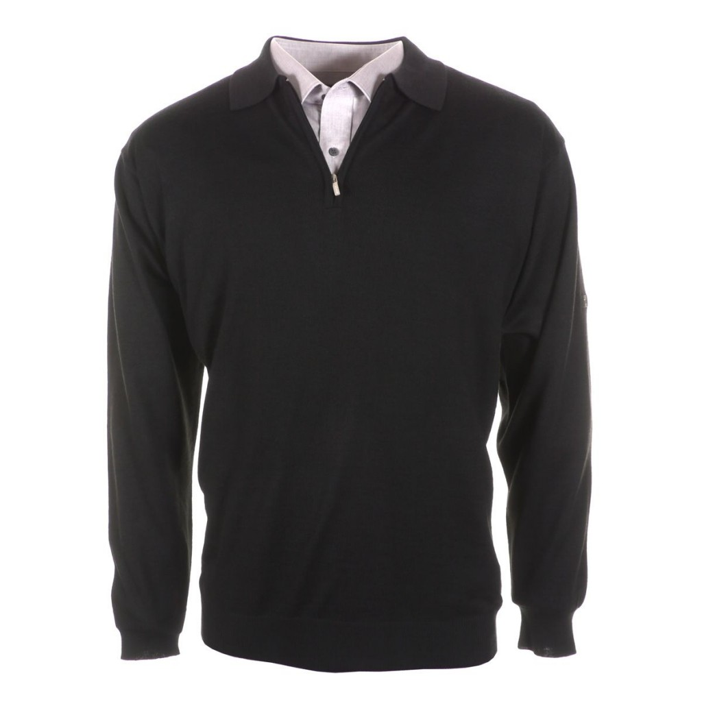 Pull grande taille pour homme