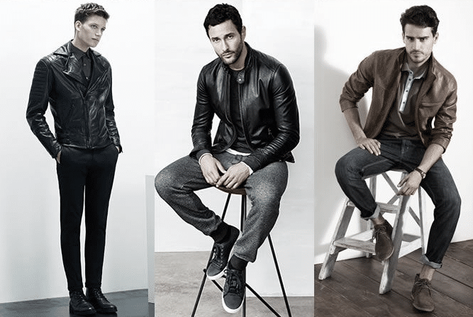 Blouson cuir homme tendance 2015