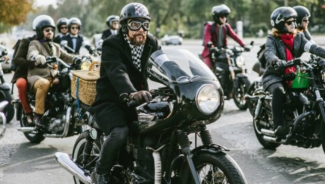 TRIUMPH DISTINGUISHED GENTLEMAN RIDE