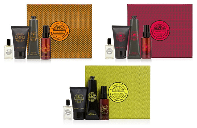 Coffrets cadeaux hommes Crabtree & Evelyn
