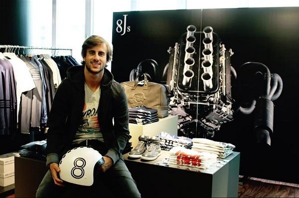 Sacha Prost, co-créateur de la marque 8Js
