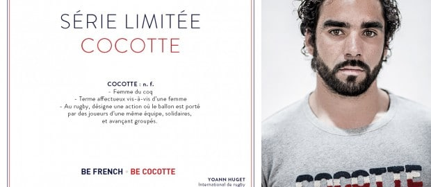 "SERGE BLANCO lance une collection capsule mixte baptisée ""Cocotte"""