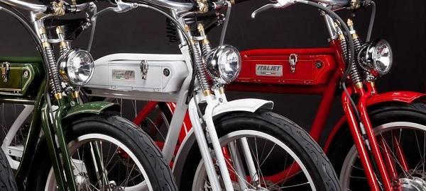Vélo électrique tendance e-byke, Italjet