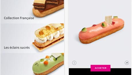Fauchon application mobile